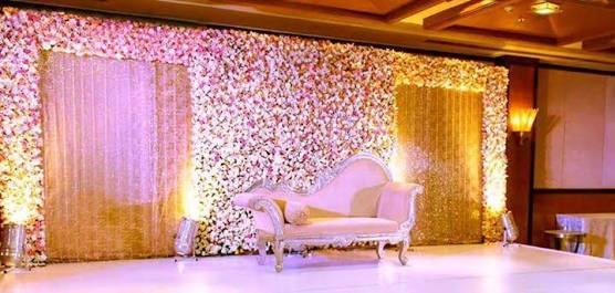 Flower Wedding Stage