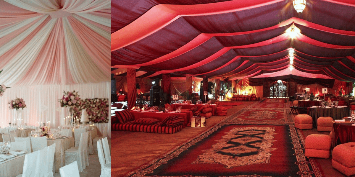 Tent & Furniture