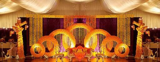 Marigold Wedding Stage