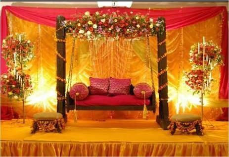 Jhula Wedding Stage
