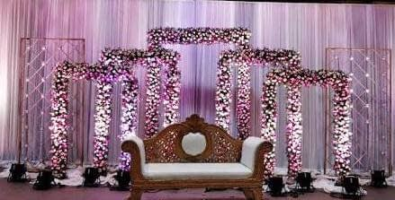 Framed Wedding Stage