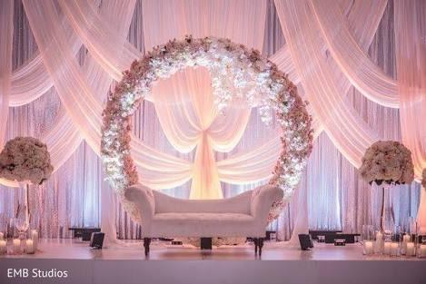 Spiritual Wedding Stage